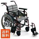 車椅子電動車椅子電動ユニット装着車[MiKi/ミキ]M-JWX-1 Plusニッケル水素バッテリー車イス/車いす/車椅子/送料無料
