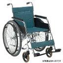車椅子 スタンダード 病院 施設 人気 シンプル スチール製 丈夫 頑丈 ビニールレザー 松永