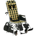 車椅子介助式車椅子アルミ製リクライニング車椅子[松永製作所]MWシリーズ MW-14車イス/車いす/車椅子/送料無料