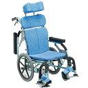 車載用車椅子 折り畳み 抗菌 肘跳ね上げ スイングアウト 介助用ブレーキ 枕高さ調整 シート張り調整
