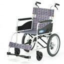 高品質 リーズナブル 標準 車椅子 NEOシリーズ NEO-2 介助用 アルミ製 折りたたみ ノーパン