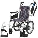 多機能 車椅子 NEOシリーズ NEO-2W 介助用 アルミ製 折りたたみ 肘跳ね上げ スイングアウト