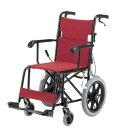軽量 コンパクト 車椅子 TH-2SB 介助用 アルミ製 折り