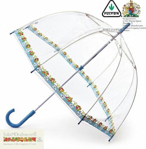 フルトン FULTON Julie Dodsworth 傘 デザイナーコラボ バードケージ 雑貨 アンブレラ 長傘 【送料無料】 英国王室御用達 透明 花柄 フラワー レディース ブランド BirdCage Umbrella かさ 鳥かご フルトン 婦人用 女性用 イギリス ロンドン fultonl775daisycottage 新築 Julie Dodsworth ジュリードッズワース FULTON フルトン 傘雑貨美しいです