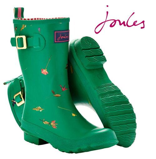 【レインブーツ グリーン】 花柄 Joules 長靴 送料無料 レディース ネイビー ガーデン 紺色 ガーデニング 雨靴 女性用 アウトドア トレッキング joumollywellygdngreen *23 *24 ギフト 国内未入荷の英国ブランド、Joulesです♪ レインブーツ 長靴