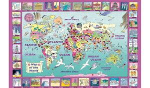 Went Worth ジグソーパズル 世界地図 World Map 雑貨