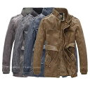 レザージャケット メンズ バイクウェア 革ジャケット 革ジャン バイク ジャケット 防寒 防風 耐磨 ファッション ライダースジャケット フェイクレザージャケット sss