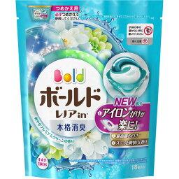 <strong>ボールド</strong> ジェルボール3D 爽やかプレミアムクリーンの香り つめかえ用 18個 ウェルパーク