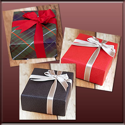 Paid wrapping purchase page