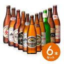 【ギフト】【送料無料】【瓶ビール】選べる瓶ビール 飲み比べ中瓶6本セット