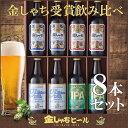 【金しゃちビール】金しゃちビール受賞飲み比べ8本セット KMB-8A(同梱不可)