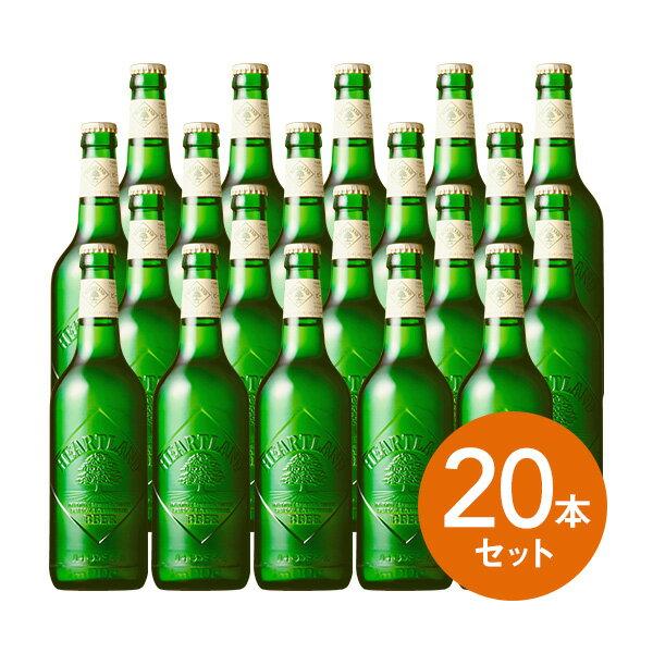 【ギフト 瓶ビール】【キリン】ハートランドビール  瓶ビール 500ml中瓶×20本(P箱…...:wepps:10022299