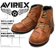 [AVIREX] アヴィレックス(アビレックス) AV-2931 TIGER タイガー Crase Horse クレイジーホース メンズ&レディース 本革 ライダースブーツ ミリタリーブーツ ショートブーツ