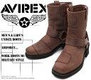[AVIREX] アヴィレックス(アビレックス) AV-2625 HARRIER Crase Horse クレイジーホース メンズ&レディース 本革 リングブ..
