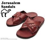 [Jerusalem Sandals]�����륵��ࡦ������롡022/JESSE��Brown���֥饦����ܳס������졡�쥶��������롡�ӡ����������