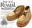 [Russell Moccasin] ラッセルモカシン 200-27W スポーティング クレーチャッカ・ブーツ Tan Laramie Suede タン・ララミースエード(Brown/Brown)