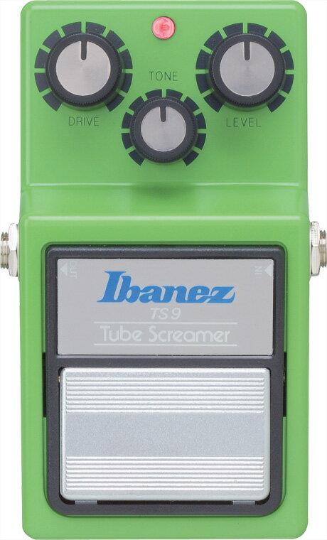 Ibanez《アイバニーズ》TS9 Tubescreamer オーバードライブ (チューブスクリーマー)