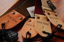 【ネコポス可能】Live Line ライブライン LS2000C 50mm幅 ACギターストラップ/レザーエンド