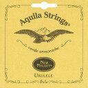 【ネコポス可能】Aquila アクイーラ [AQ-SR(4U)] 'Nylgut' Ukulele Strings Set Soprano ソプラノウクレレ用セット弦/ナイルガット/イタリア製