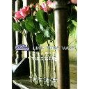 リンクチューブベース Link Tube Vase [Gold・Silver]【ダルトン DULTON】試験管一輪挿し 花瓶 フラワーベース 15x2.5cmx9本