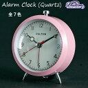 アラームクロック(クォーツ)#1[全7色]AlarmClock(Quartz)目覚まし時計【楽ギフ_包装】【楽ギフ_のし宛書】【ダルトン DULTON】 【西海岸 インダストリアル】