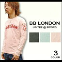 BB LONDON(ビービーロンドン) L/S Tee @ SWORD-3color[BB277] ロンT/長袖Tシャツ 【smtb-kd】【RCP】