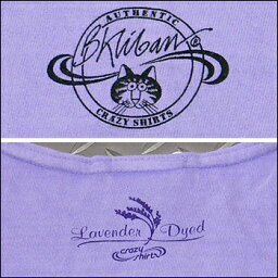 CrazyShirts(���쥤���������)-Womens-S/SMiniTee@LavenderDyed[1021089]KlibanYogaCat����Х�å�ȾµT�����HAWAII�ϥ磻�ͥ���ǥ�������٥��������