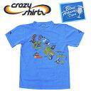 Crazy Shirts(クレイジーシャツ) S/S Tee @BLUE HAWAII DYED[2000253] Hawaii map Cats クリバンキャット 半袖 Tシャツ HAWAII ハワイ  ネコ  リキュール染め【RCP】ヴィンテージウォッシュ