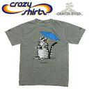 Crazy Shirts(クレイジーシャツ) S/S Tee @CRATER DYED[2001990] TOURIST CATクリバンキャット 半袖 Tシャツ HAWAII ハワイ ネコ 火山灰【RCP】