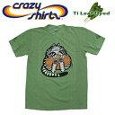 Crazy Shirts(クレイジーシャツ) S/S Tee @TI LEAF DYED[2002422] FootballCatch Cat クリバンキャット 半袖 Tシャツ HAWAII ハワイ  ネコ  ティリーフ染め【RCP】大きめサイズ