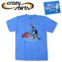 Crazy Shirts(クレイジーシャツ) S/S Tee @BLUE HAWAII DYED[2004115] Basketball Cats クリバンキャット 半袖 Tシャツ HAWAII ハワイ  ネコ  リキュール染め【RCP】ヴィンテージウォッシュ