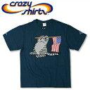 Crazy Shirts(クレイジーシャツ) S/S Tee @Kliban Cats[2004598] STAR N STRIPES CAT クリバンキャット 半袖 Tシャツ HAWAII ハワイ ネコ【RCP】