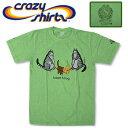 Crazy Shirts(クレイジーシャツ) S/S Tee @MONEY DYED[2005548] CAT'S BEST FRIEND クリバンキャット 半袖 Tシャツ HAWAII ハワイ  ネコ  リサイクルマネー染め【RCP】ヴィンテージウォッシュ 大きめサイズ