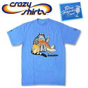 Crazy Shirts(クレイジーシャツ) S/S Tee @BLUE HAWAII DYED[2005549] SASHIMI CAT クリバンキャット 半袖 Tシャツ HAWAII ハワイ  ネコ  リキュール染め【RCP】