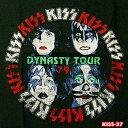 ROCK TEE KISS-37[キッス] DYNASTY TOUR メール便送料無料 ロックTシャツ バンドTシャツ 【smtb-kd】【RCP】