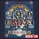 ROCK TEE KISS-26 [キッス]COBO HALLメール便送料無料 ロックTシャツ/バンドTシャツ 【smtb-kd】英国/米国のオフィシャルライセンス