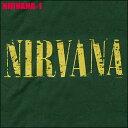 【即納】ROCK TEE NIRVANA-1 [ニルヴァーナ]メール便送料無料 ロックTシャツ/バンドTシャツ 【smtb-kd】