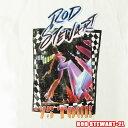 ROCK TEE -Lady's- ROD STEWART-2L [ロッドスチュワート] 75 Tour Retro)メール便送料無料 レディス ロックTシャツ/バンドTシャツ 【smtb-kd】【RCP】英国/米国のオフィシャルライセンス