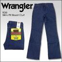 【即納】WRANGLER(ラングラー) DENIM @ Slim Fit Boot Cut [935] 未洗い ブロークンデニム シューカット 生デニム USAジーンズ ブーツカット リジッド 米国ライン【YDKG-kd】【smtb-kd】【RCP】