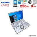 【中古】Panasonic CF-SZ5 中古 ノートパソコン Office Win10 SSD搭載 [core i5 6300U 2.4Ghz 8GB 256GB SSD BT カメラ 12.1型 ] :アウトレット