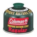 【スマホで最大P25倍】Coleman[コールマン] ガス 純正LPガス燃料CM 5103A230T 純正LPガス燃料230g