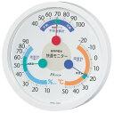 EMPEX CM-6381 快適モニター温度・湿度・不快指数計 掛用 ホワイト 〔エンペックス気象計〕