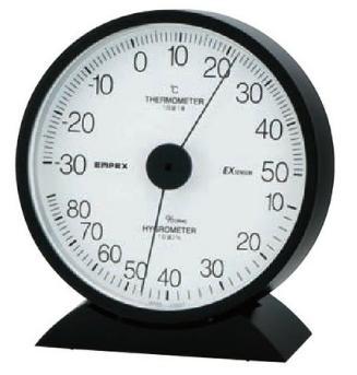 【最大500円OFFクーポン付】EMPEX TM-6251 エクレール温・湿度計 〔エンペックス気象計〕