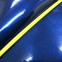 グロンドマン バイク シートカバー ホンダ HONDA エナメルブルー/黄色パイピング 被せ ズーマー[AF58]