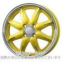 輪胎, 車輪 - 15インチタント カスタムLA600系ENKEI オール オールワン マシニングレモンイエロー 5.0Jx15エナセーブ RV504 165/55R15
