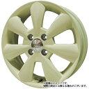 轮胎, 车轮 - 13インチタント エグゼL450系WEDS ルーシー LUCY アイボリー 4.0Jx13Bluearth AE−01 145/80R13