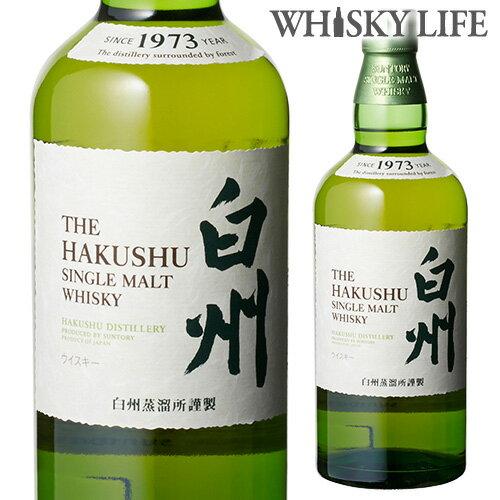 サントリー シングルモルト 白州 700ml ウイスキー ウィスキー japanese whisky