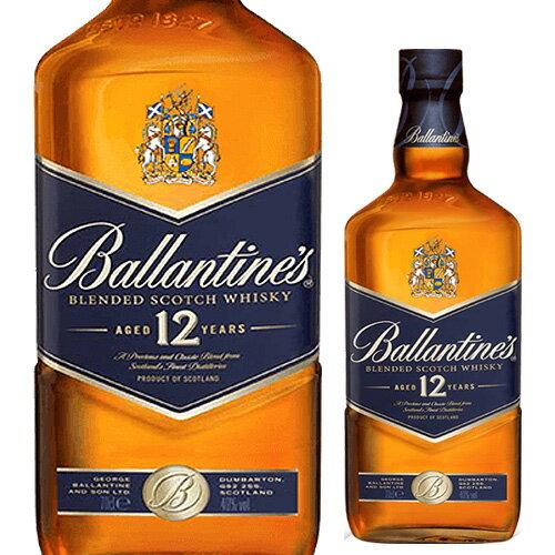 バランタイン 12年 700ml[likaman_BF12][長S] ウイスキー ウィスキー ブレンデッド スコッチ
