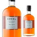 コーヴァル シングルバレル フォーグレーン <KOVAL> 750ml[ウイスキー][ウィスキー][長S]