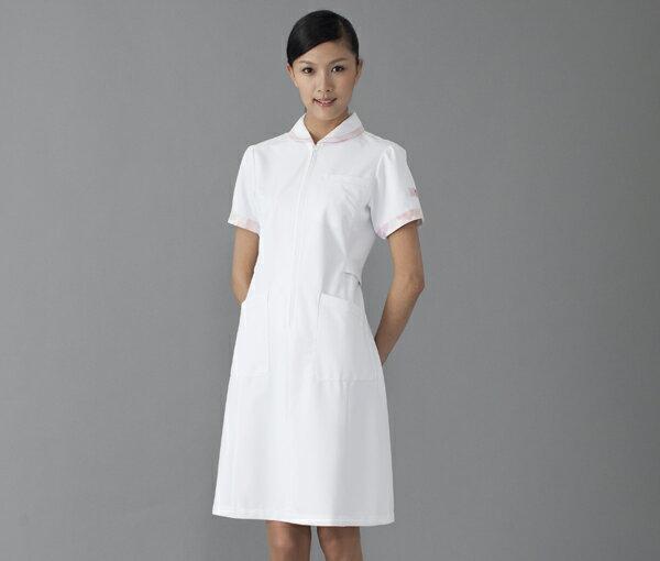 【FOLK×Wacoal】HI105【ワコール・ワンピース・半袖ナースウェア・白衣】 ワコールの白衣です!